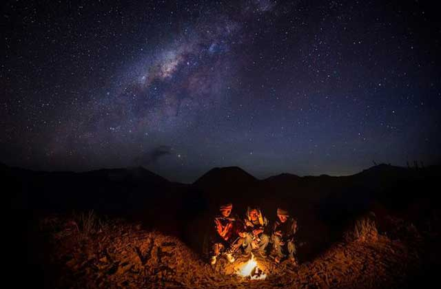 mount bromo milky way tour 2 days