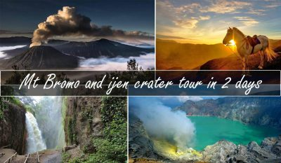Bromo ijen crater tour 2 days