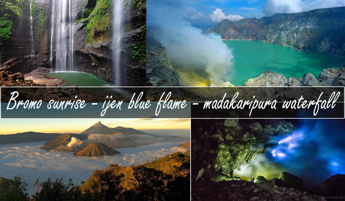 mt bromo ijen madakaripura waterfall tour