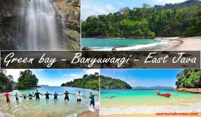 green bay beach banyuwangi east java