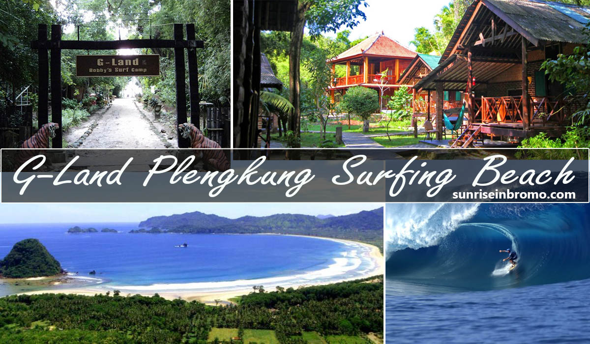 G-land plengkung surfing beach