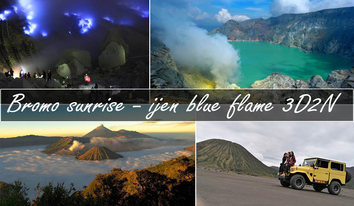mount bromo ijen tour package 3 days