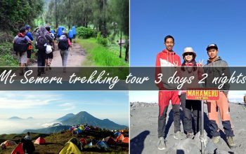 mt semeru trekking tour 3 days 2 nights