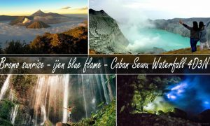 mt bromo ijen tumpak sewu waterfall tour 4 days