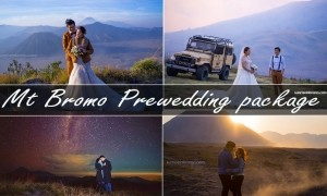 mount bromo prewedding package under milky way