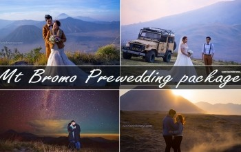 mt bromo prewedding package under the milky way