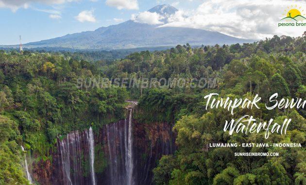 Tumpak sewu waterfall lumajang east java