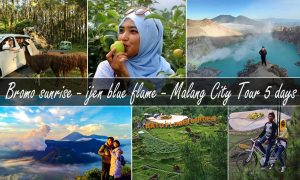 mount bromo ijen malang city tour 5 days